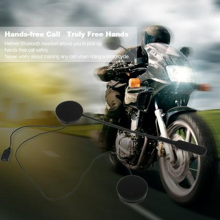 Motorcycle Motorbike Helmet Headsets Wireless Headphones 4 0