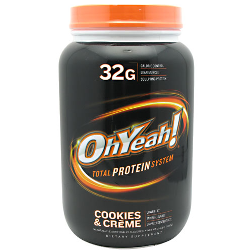 ISS OhYeah! Protein PowderSystem , Cookies and Creme, 2.4 Pound