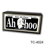 Caravelle Designs TC-4024 Rue Achoo Tissue Box Cover