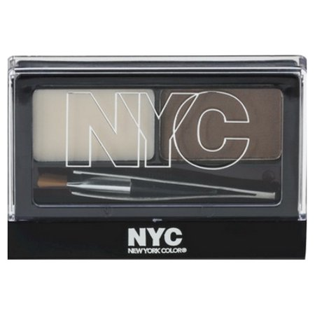 3 Pack  Nyc Browser Brush On Brow Kit   Brunette