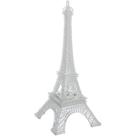 Homeford FGV0LED026TW Acrylic Eiffel Tower LED Light, 10