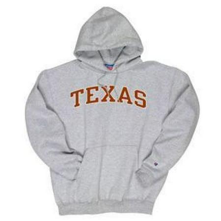 Texas Longhorns Hooded Sweatshirt - Texas Arched - By - Heather - Texas Tech Sweatshirt