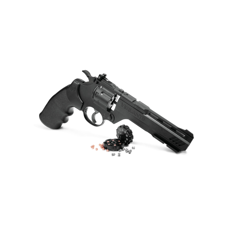 Crosman Vigilante CO2 .177-Caliber Pellet and BB Revolver CCP8B2