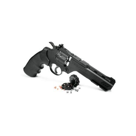 Crosman Vigilante Pellet & BB Revolver, CO2, .177