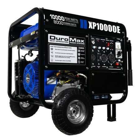 DuroMax 10000-Watt 18-Hp Portable Gas Electric Start Generator RV Home Standby