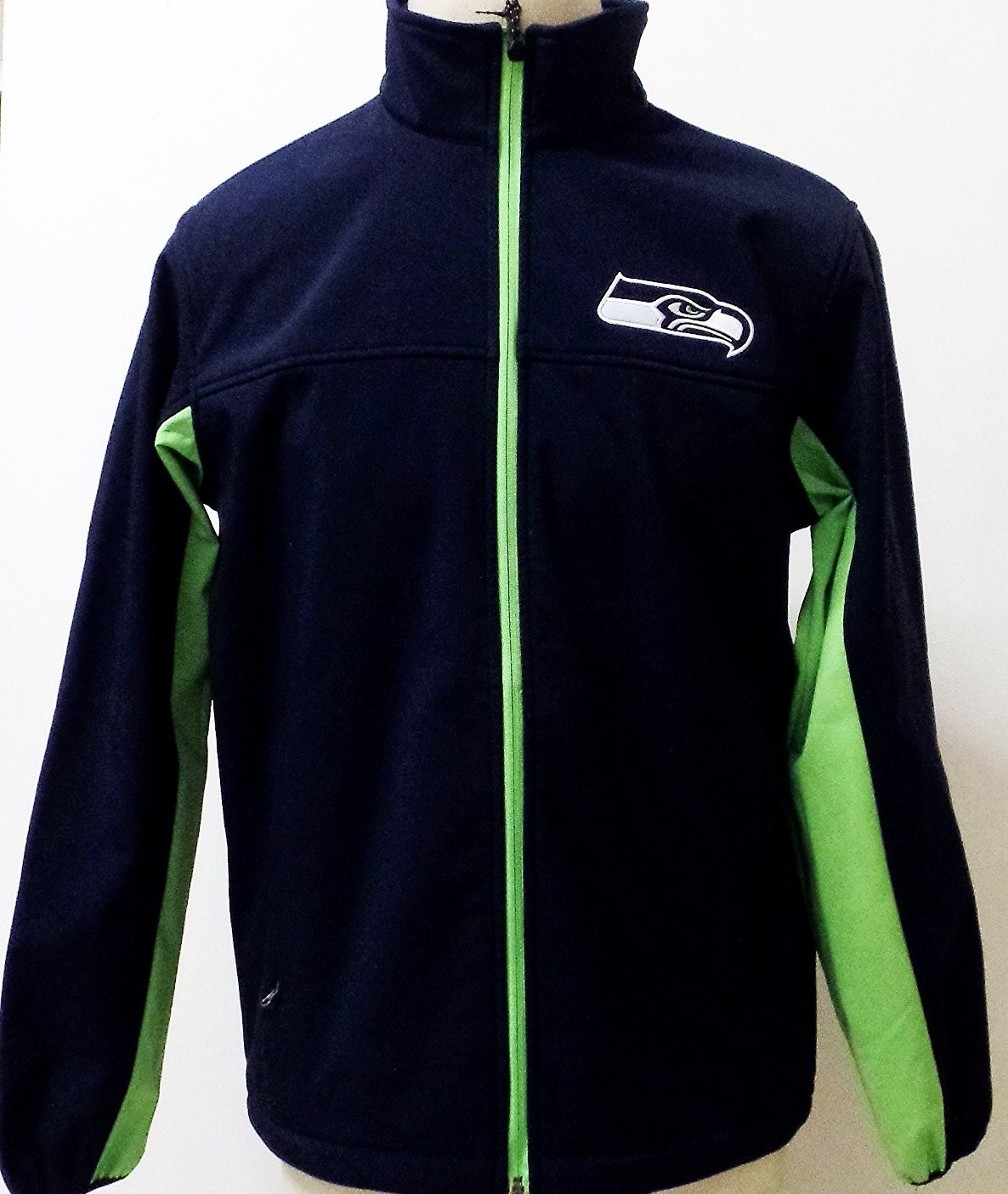 Seattle Seahawks 3 Layer Soft Shell Bonded Hands High Jacket by G-III Sports
