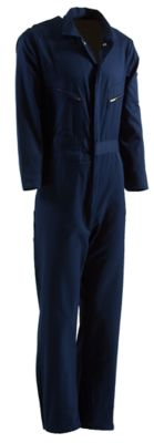 Berne Deluxe Unlined Coverall Size XL Regular (Navy) by Coveralls