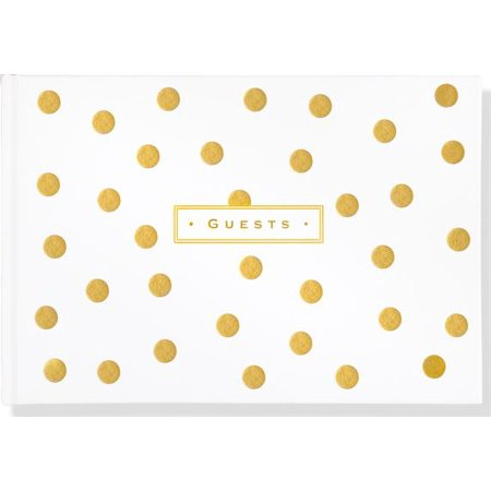 Gold Dots Guest Book ()