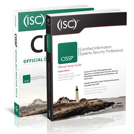 (isc)2 Cissp Certified Information Systems Security Professional Official Study Guide, 8e & Cissp Official (Isc)2 Practice Tests,