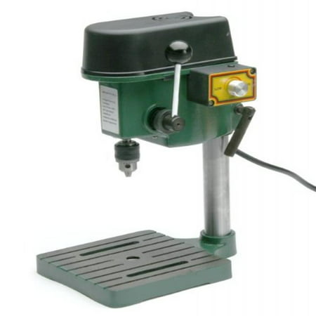 Gino Development 01-0822 0-8500 rpm TruePower Precision Mini Drill Press with 3 Range Variable Speed Control,
