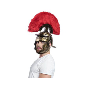 SUPER DLX ROMAN HELMET - GOLD](Novelty Helmet)