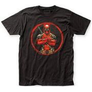 Deadpool- Standing Still Apparel T-Shirt - Black