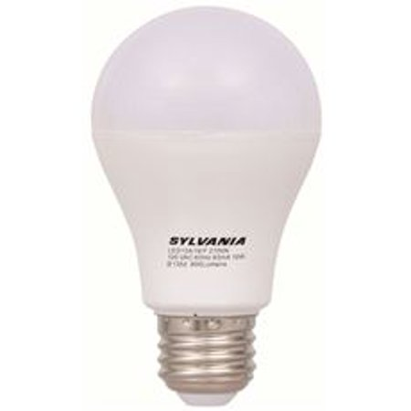 Sylvania Led Lamp, A19, 6 Watts, 5000K, 85 Cri, Medium Base, 120 Volts, Semi-Directional, Frosted, 6 Per Case* (120 Volt A19 Standard Base)