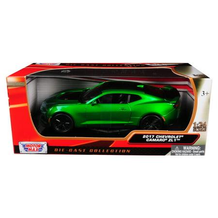 2017 Chevrolet Camaro ZL1 Metallic Green 1/24 Diecast Car Model by Motormax (Metallic Sonnenbrille 2017)
