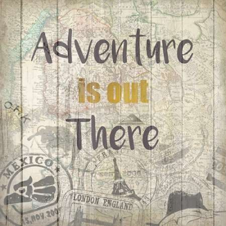 Adventure Awaits 2 Poster Print by Kimberly Allen