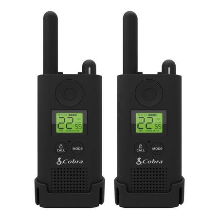 Cobra PX500 WMT Walkie Talkies 2-Pack Pro Business Two-Way Radios (Pair)