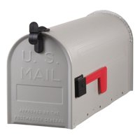 Gibraltar Mailboxes Grayson Medium, Steel, Post Mount Mailbox, ST100000