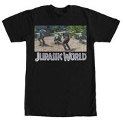 Jurassic World Men's Velociraptor Pack T-Shirt