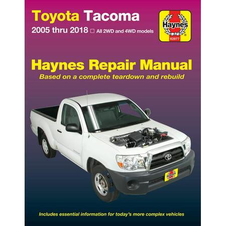 Toyota Tacoma, 2006-2018 Haynes Repair Manual ()