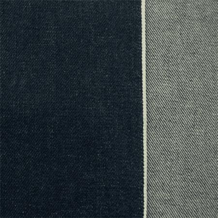 Indigo Blue Cotton Selvedge Denim Fabric By The Yard
