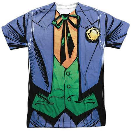 Batman Joker Uniform Mens Sublimation - Joker Teen