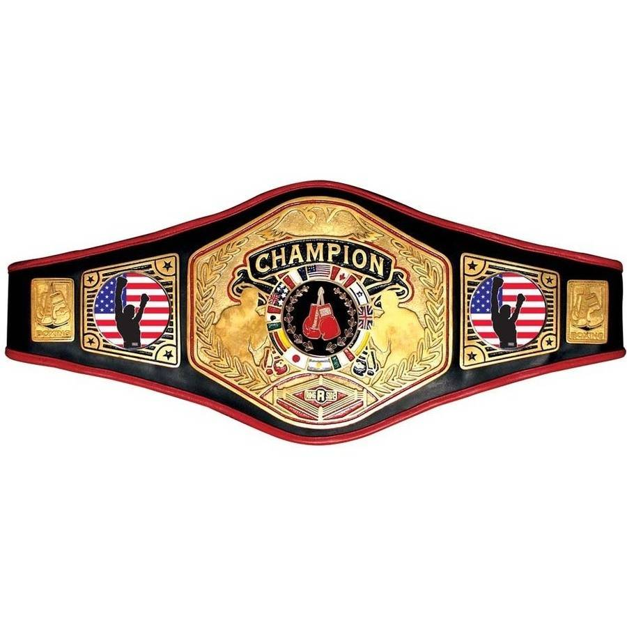 Championship Belt Number 6, Black
