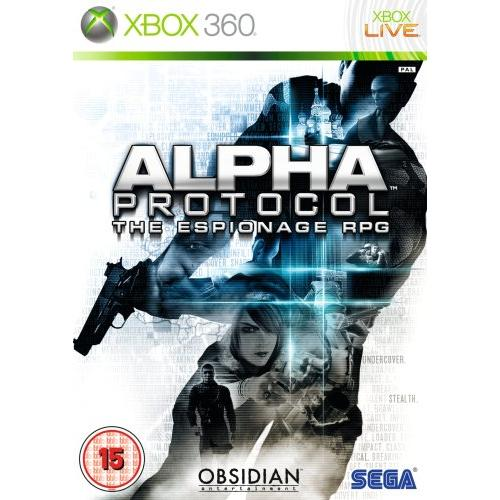 Sega Alpha Protocol Role Playing Game - Complete Product - Standard - 1 User - Retail - Xbox 360