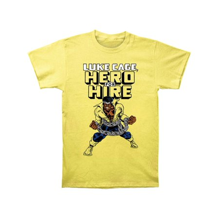 luke cage superhero marvel comics hero for hire adult fitted jersey t-shirt tee