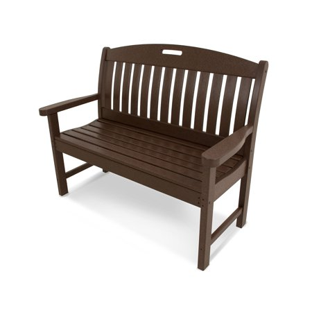 POLYWOOD; Nautical Recycled Plastic Park Bench