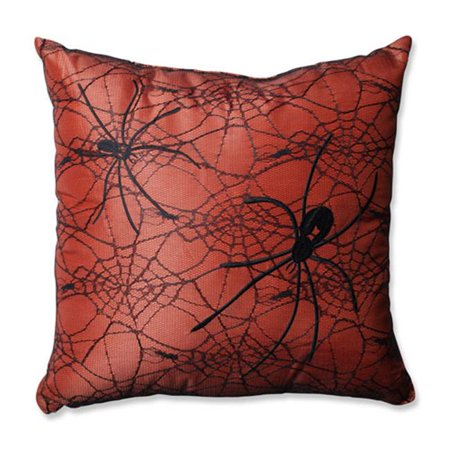 Spider Orange 16.5 in. Throw Pillow - image 1 of 1