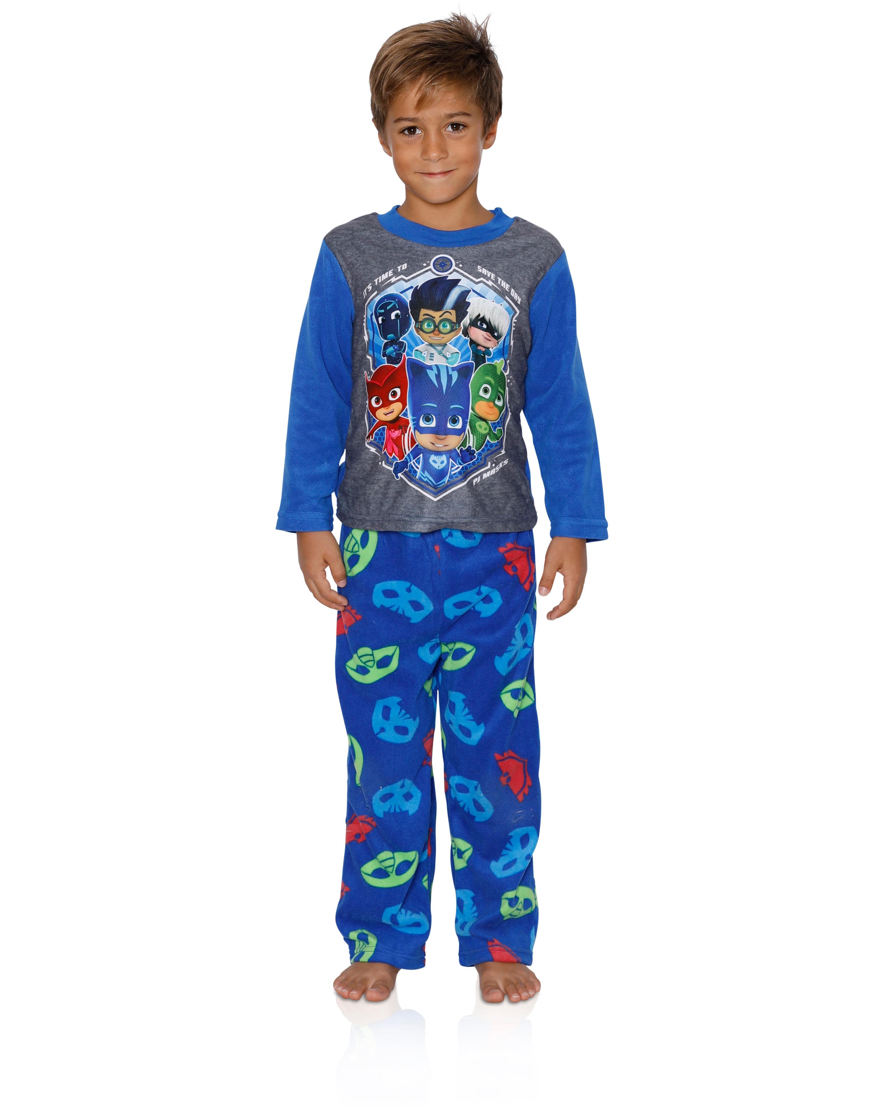 Entertainment One Boys PJ Masks Pajamas - 2-Piece Long Sleeve Buttons Pajama  Set | Walmart Canada