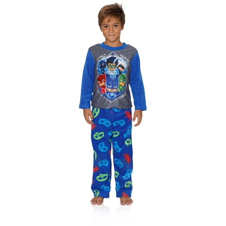 Entertainment One Boys PJ Masks Pajamas - 2-Piece Long Sleeve Pajama Set, Blue/Grey, Size: 8](1 More Sleep Until Halloween)
