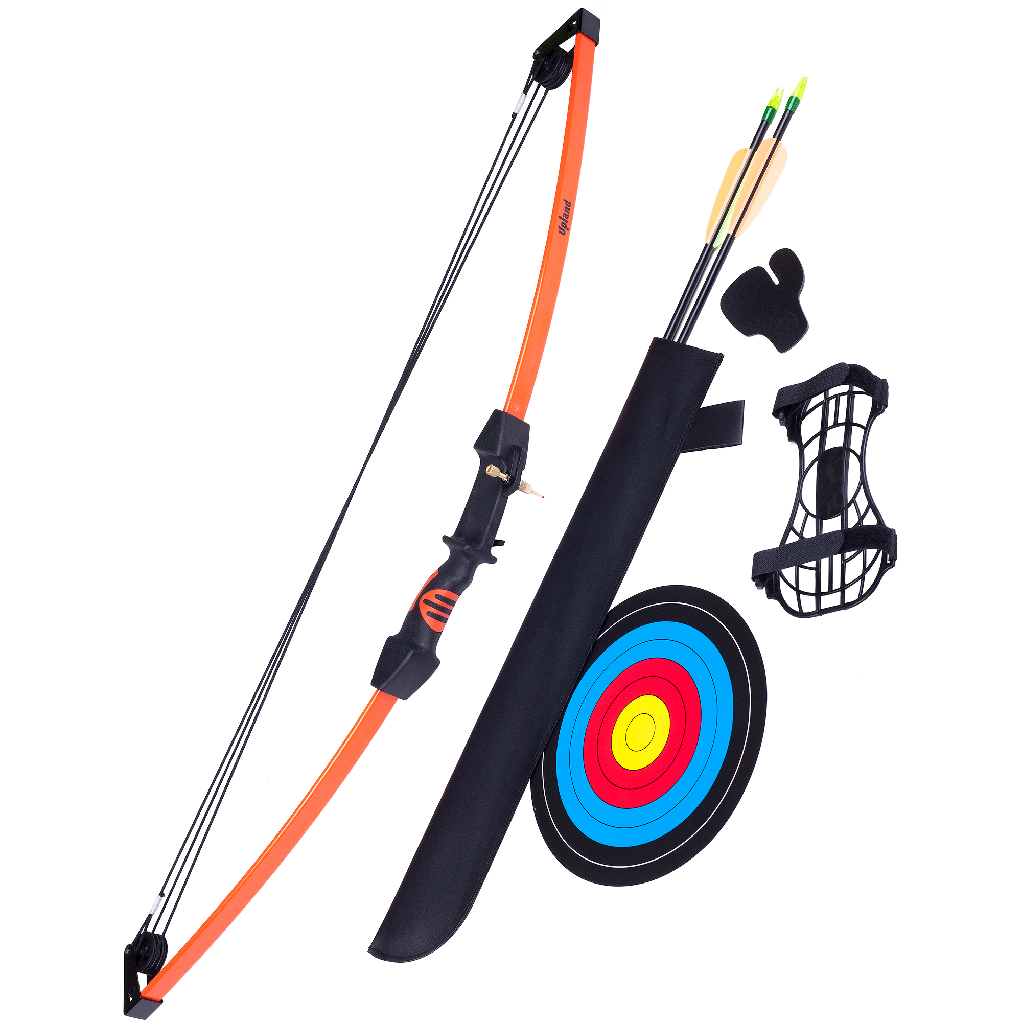 Crosman Archery Upland Compound Bow Package and Target