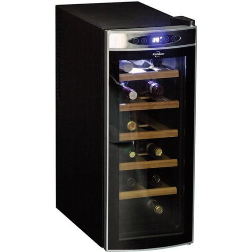 Koolatron 12-Bottle Deluxe Wine Cellar, Black
