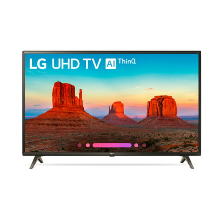 "LG 49"" Class 4K (2160) HDR Smart LED UHD TV w/AI ThinQ - 49UK6300PUE"