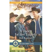 A Daddy for Her Triplets - eBook