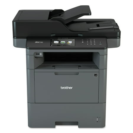 Lbp 5300 Laser Printer - Brother MFC-L6700DW Wireless Monochrome All-in-One Laser Printer, Copy/Fax/Print/Scan