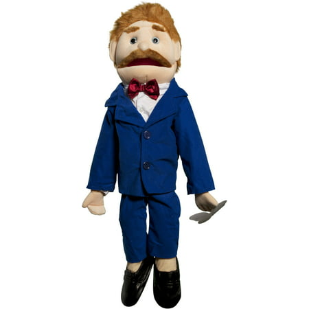 Sunny Toys GS4302 28 In. Dad In Blue Suit, Full Body Puppet