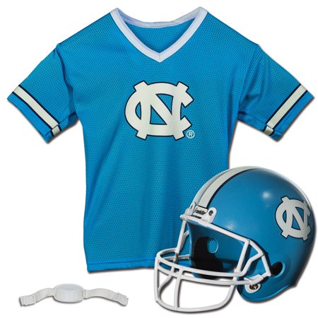 North Carolina Tar Heels Franklin Sports Youth Helmet and Jersey Set - No (Carolina Helmet)