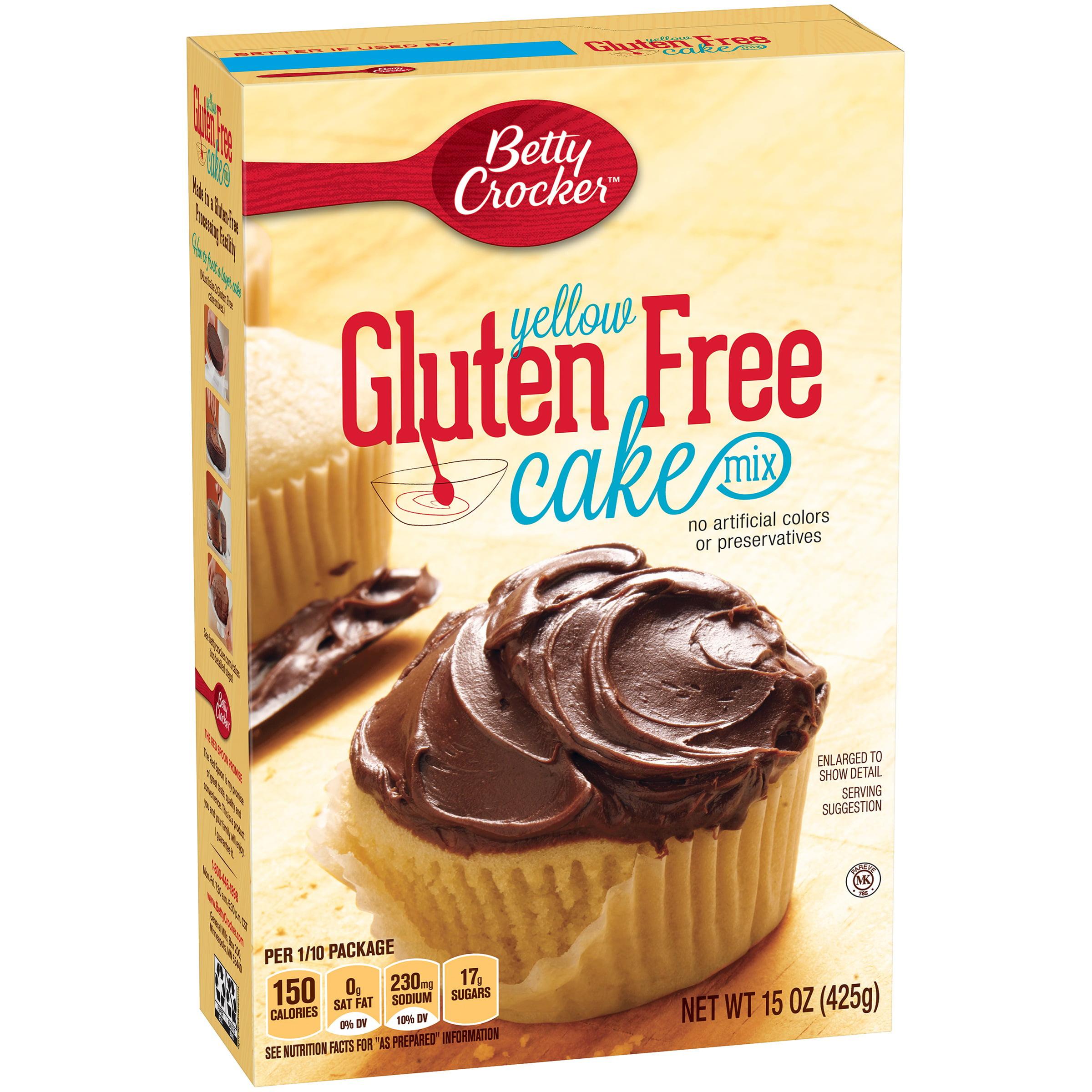 Betty Crocker Gluten Free Cake Mix Yellow 15.0 oz Box, 15.0 OZ by General Mills Sales, Inc.