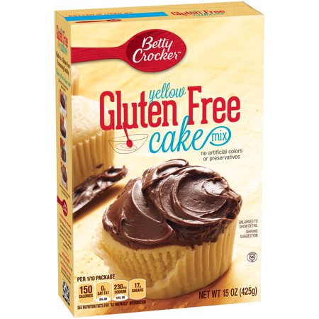 Gluten Free Betty Crocker Yellow Cake Mix