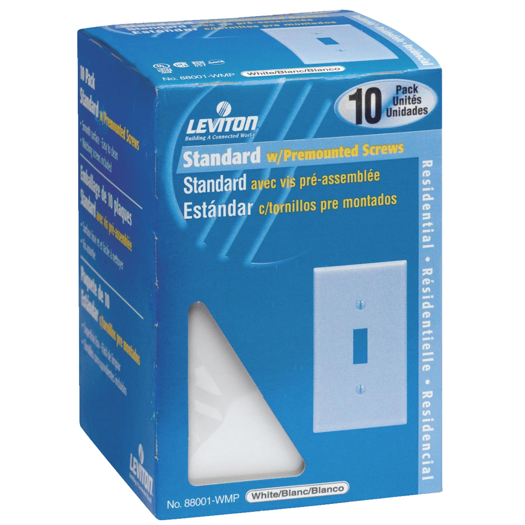 10-Pack Switch Wall Plate