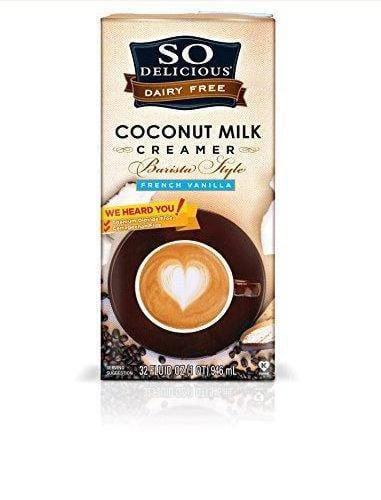 6 Pack : So Delicious Coconut Milk Dairy Free Creamer Barista Style 32oz Carton by