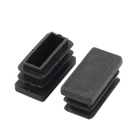Plastic Rectangle Table Chair Feet Protector Cover Tube Insert 26 x 13mm 50pcs - image 1 of 2
