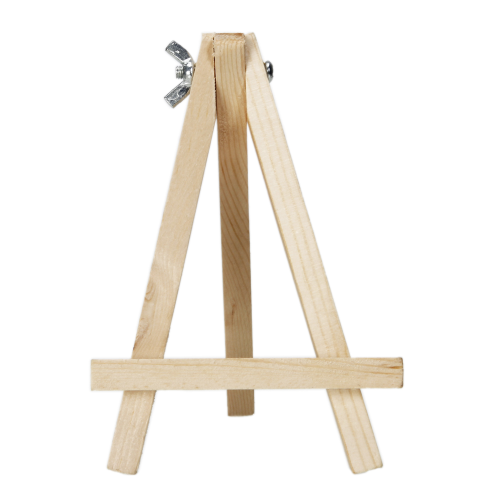 Zimtown 9 Inches Artist Wood Tripod Painting Easel Stand Table Top Display  Photos Decorative Plates For