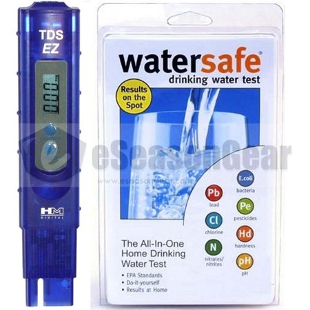 Tds Ez   Ws 425B  Hm Digital Ppm Tester   Watersafe City Home Tap Drinking Wa