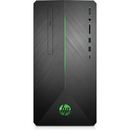 HP - Gaming Desktop - AMD Ryzen 7-Series - 16GB - AMD Radeon RX 580 - 1TB Hard Drive + 128GB Solid State Drive - Shadow Black PC Computer (Signature Series Advanced Microsoft Word 2013 Desktop Publishing)