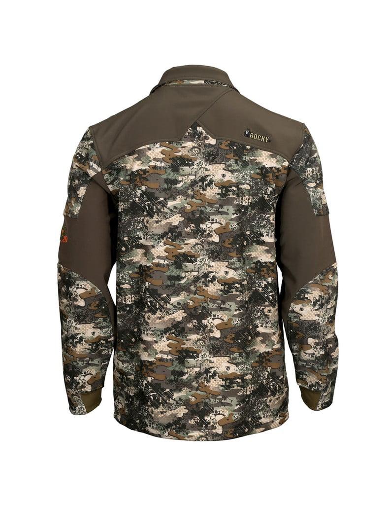 96dc7ee23 rocky venator camo 2-layer jacket hw00156 - Walmart.com