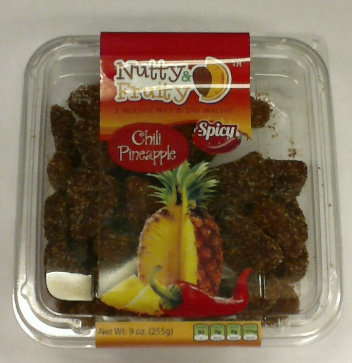 NUTTY & FRUITY Dried Chili Pineapple 9oz