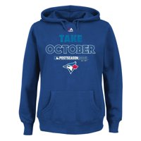 Toronto Blue Jays Majestic Women's 2015 Postseason Take October Plus Size Pullover Fleece - Royal